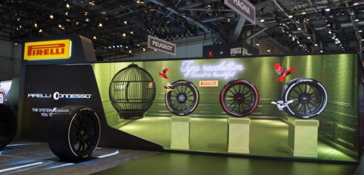 Pirelli Cenevre Fuarı'na Renk Kattı