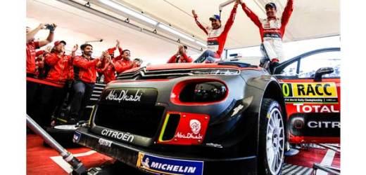 Citroën, Sébastien Loeb İle İspanya'da Birinciliği Yakaladı