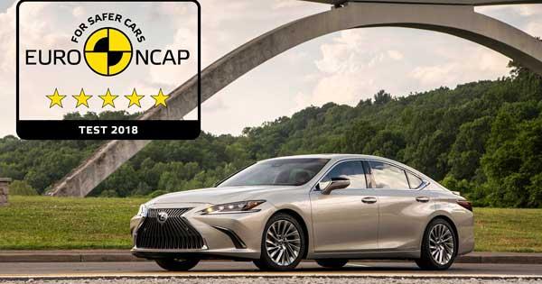 Yeni Lexus Es Euro Ncap Testlerinde En Guvenli Araclar Arasinda Yer Aldi