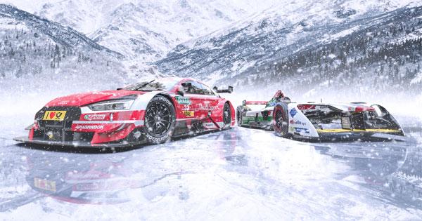 Audi'den buz üstünde bir ilk!