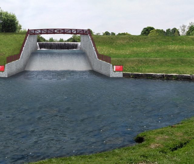 There Is Now A New Approach For The Care Of The Water A Single Coffer Dam Will Direct Water Through A Channel To Be Built Where The Steel Penstock Is