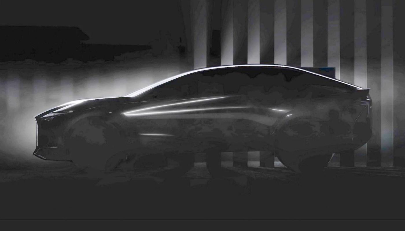 Lexus konseptinden yeni teaser geldi, lansman 30 Mart'ta
