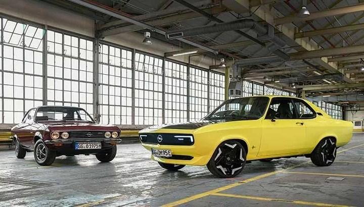 Opel Manta GSe ElektroMOD dikkatleri üzerine çekiyor