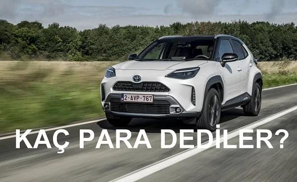 Toyota Yaris Cross fiyatları. Yaris SUV fiyatı. 2021 Yaris Cross.
