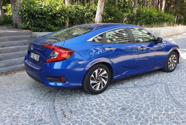 Honda Civic Sedan LPG 2019 Test Sürüşü