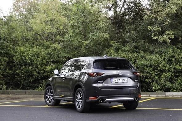 Mazda CX-5 2018 Test Sürüşü