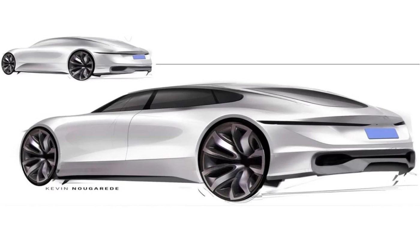 GM'in fütüristik ve spor sedan tasarımını görün