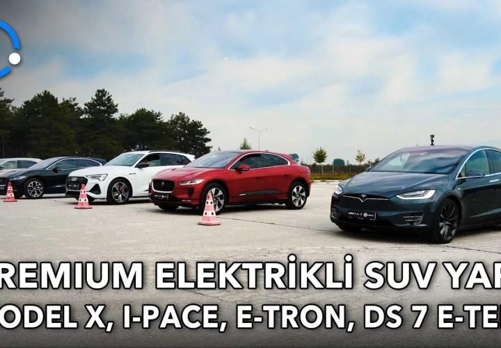 Tesla Model X vs Jaguar I-Pace vs Audi e-tron