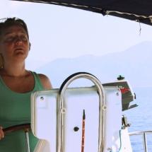 Eine Yacht Steuern