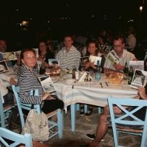 Zielklärung am ersten Abend im Restaurant