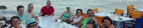 Taverne am Meer auf Kalamos