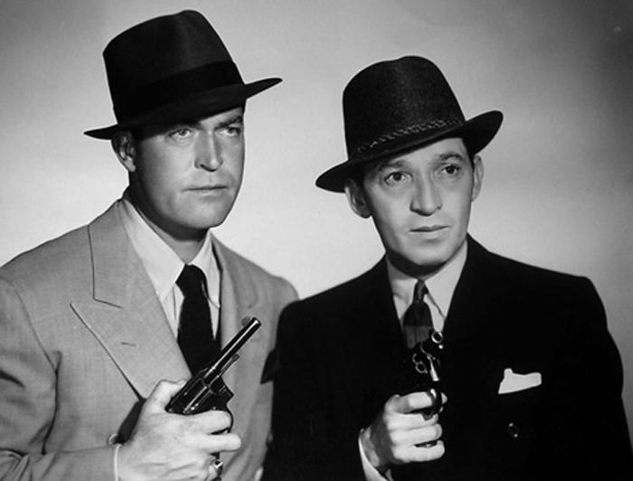 Chester Morris & Joe Stone