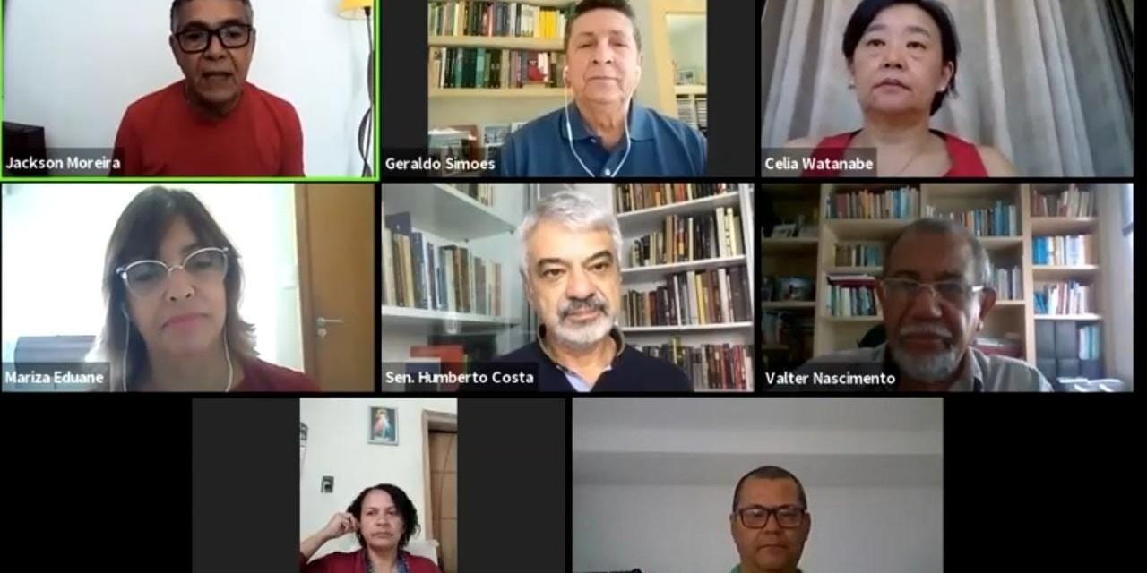 Implementar o SUS garante saúde de excelência, dizem Humberto Costa e Mariza Eduane em live do PGP