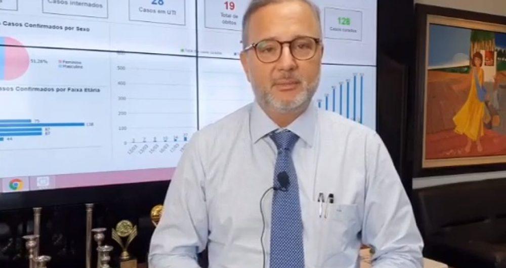 Secretário Fábio Vilas-Boas tem piora e é internado com queda na saturação sanguínea