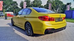 BMW m5 Gelb Foliert_2