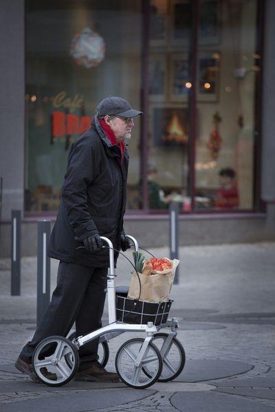 Carla Rollator Walking Frames Amp Wheeled Walkers Mobility Aids OTS Ltd