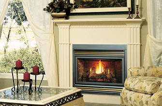 Continental Zero Clearance Vented Gas Fireplace Sales & Installation Prices Ottawa