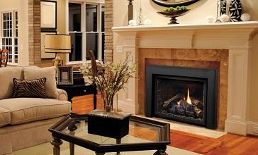 Kingsman Direct Vent Gas Fireplace Insert Ottawa
