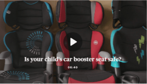 Car Seat and Booster Seat Safety