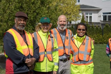 Group of crossing guards