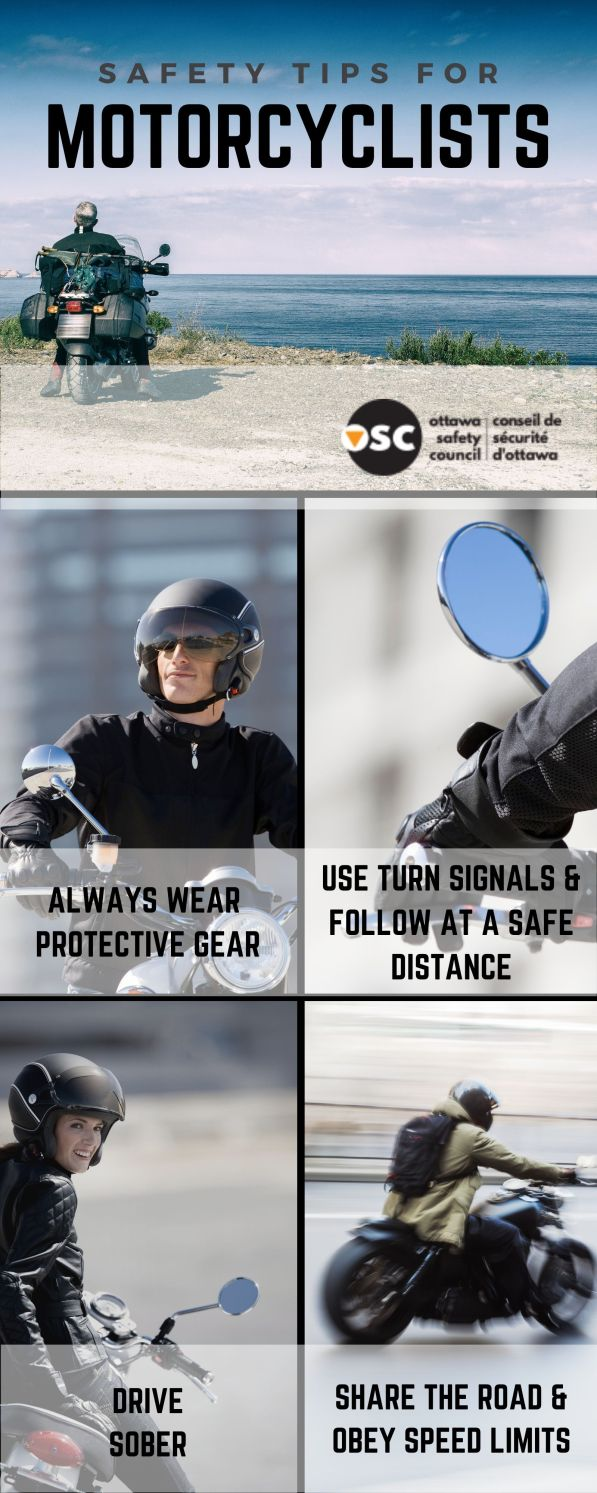 safety tips - Motorcycle Safety Awareness Month