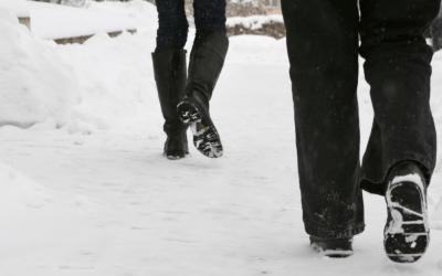 5 Winter Walking Safety Tips