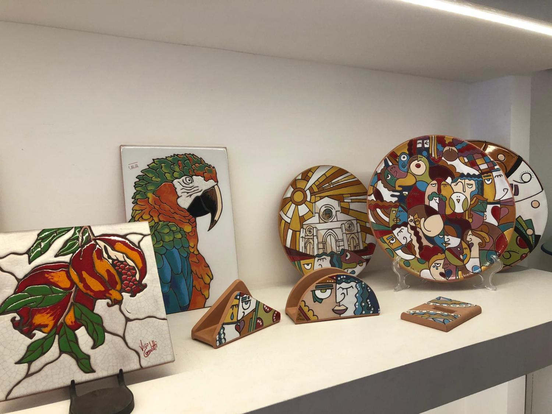 Ceramiche artistiche in cuerda seca