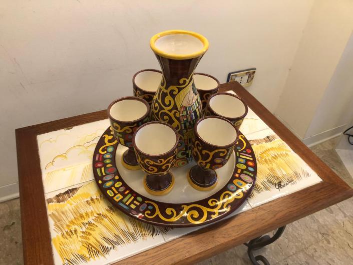 Un bicchiere con Klimt