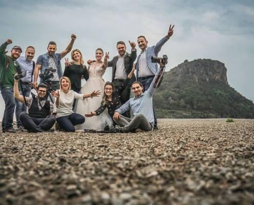 La squadra di Sposiamoci in Calabria