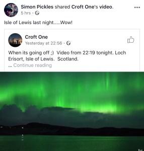 Northern lights gairloch