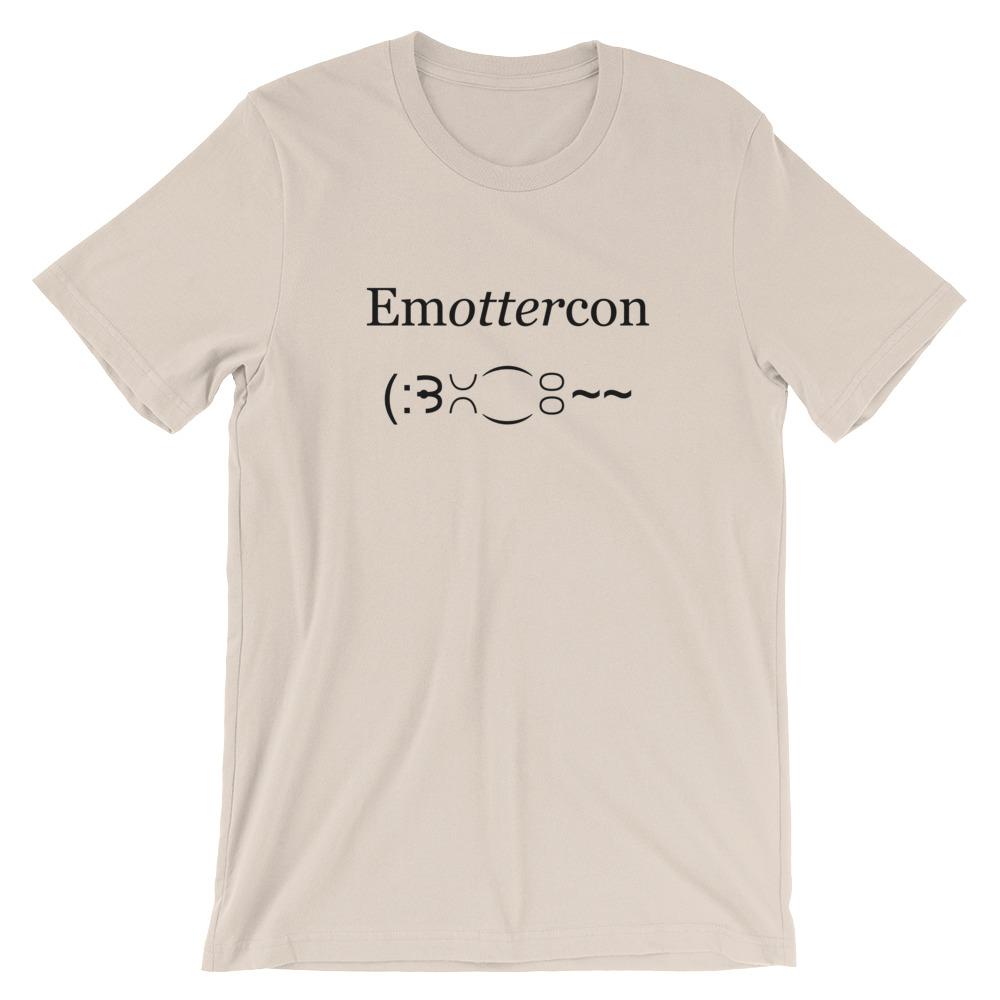 Emottercon2-Unisex T-Shirt_mockup_Front_Wrinkled_Soft-Cream