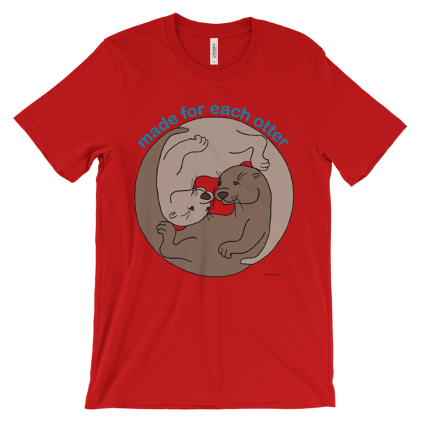 Made for Each Other Red T-shirt