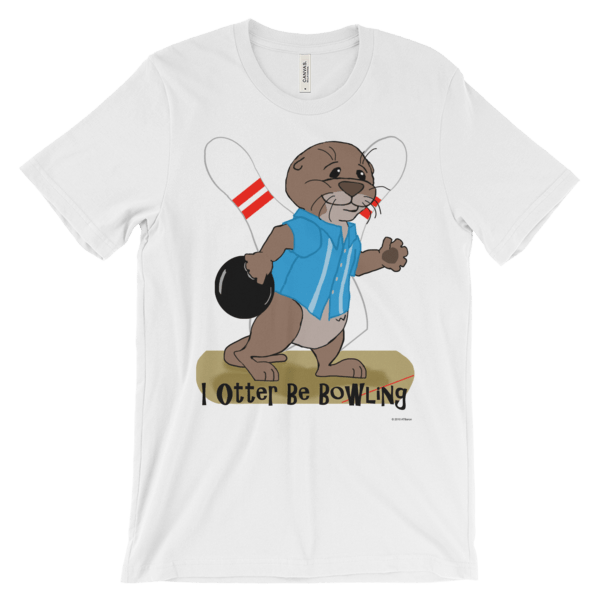 I Otter Be Bowling White T-shirt