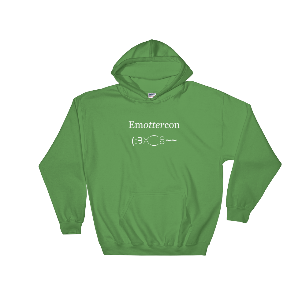 EmOTTERcon Irish Green Hoodie