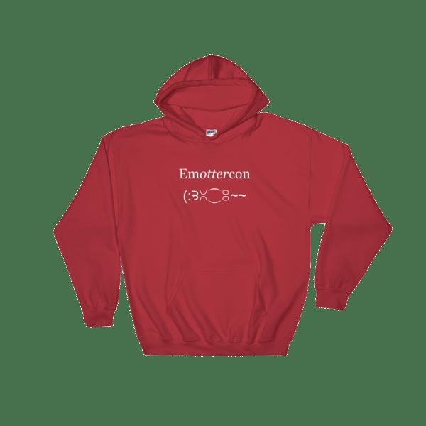 EmOTTERcon Red Hoodie