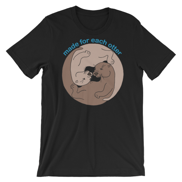 Made for Each Other Black T-shirt