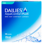 Focus dailies aqua confort plus toric trio pack