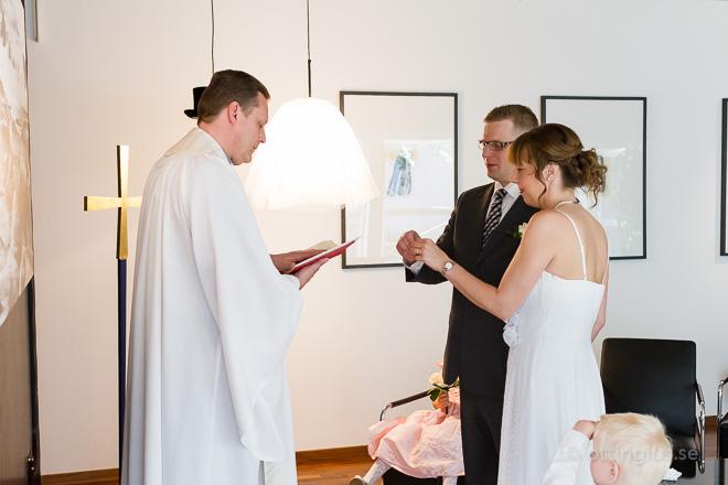 Bröllop vigsel vip-rummet Landvetter flygplats