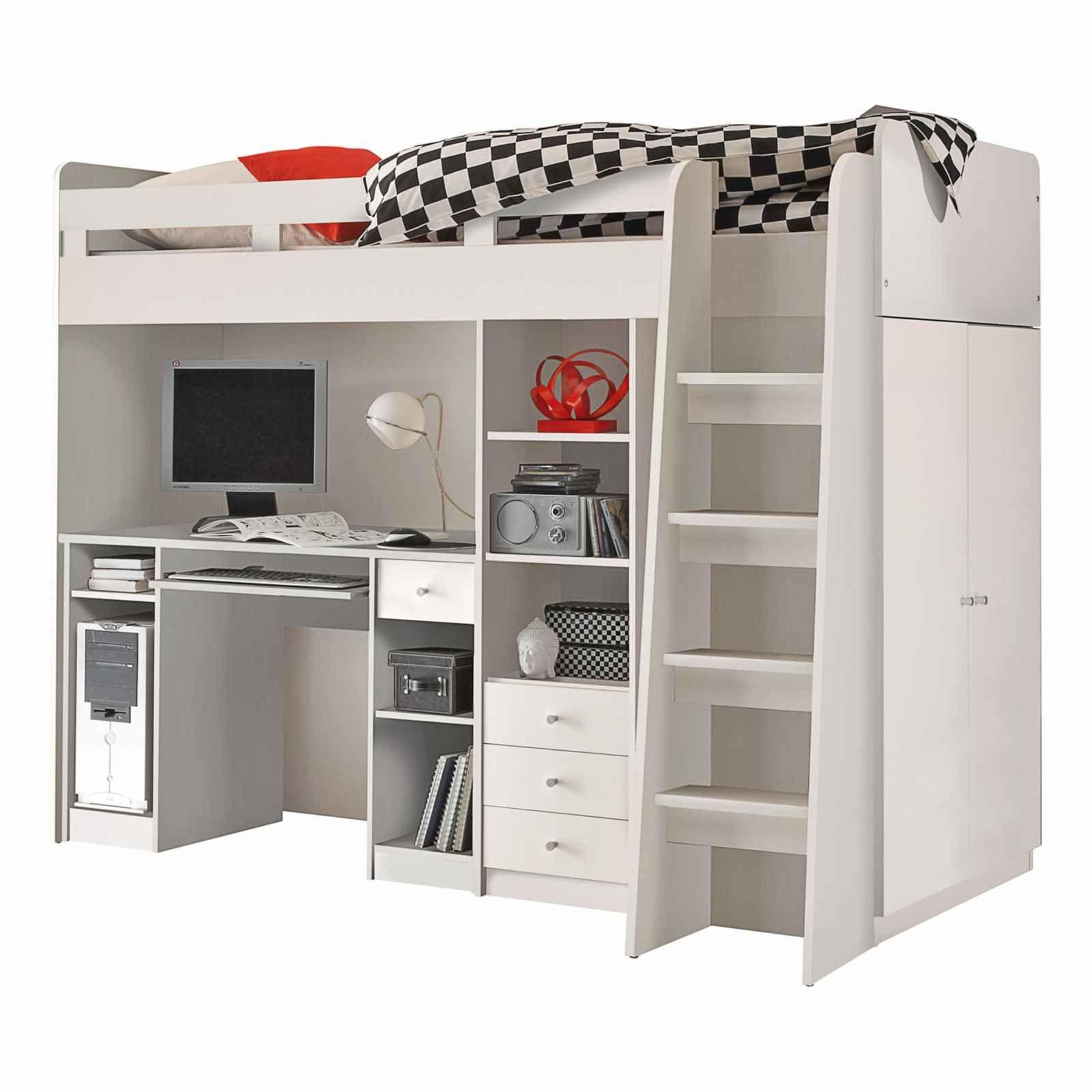 lit mezzanine unit 90 x 200 cm