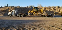 OTTO TRUCKING TRANSPORT DOZER