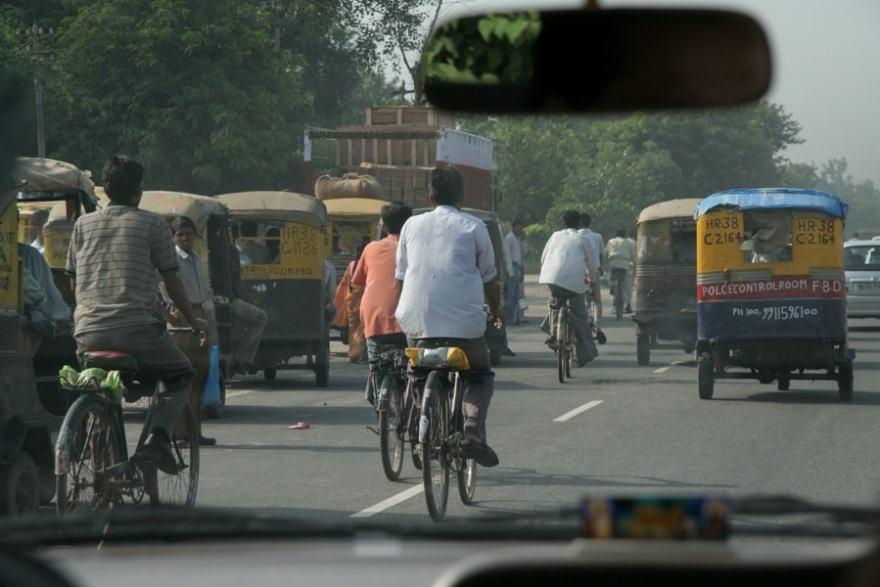Drivin in India