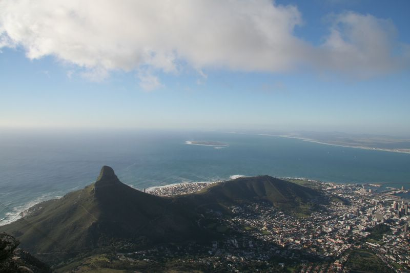 Adjusting to long term travel touring Capetown South Africa
