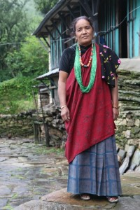 Did in traditional Gurung Dress