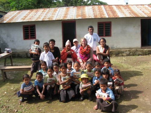 The school, elders, teachers, and children on my last day
