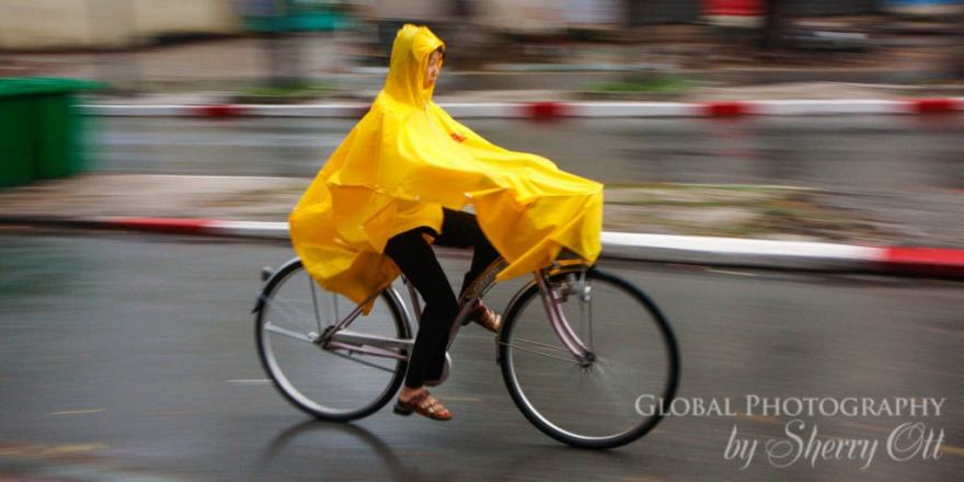 Vietnam Rainy Season biking
