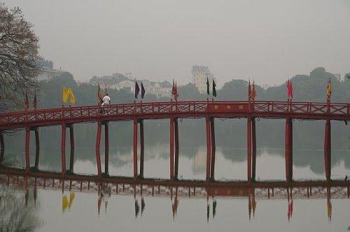 Exploring in Hanoi Vietnam - Bridge