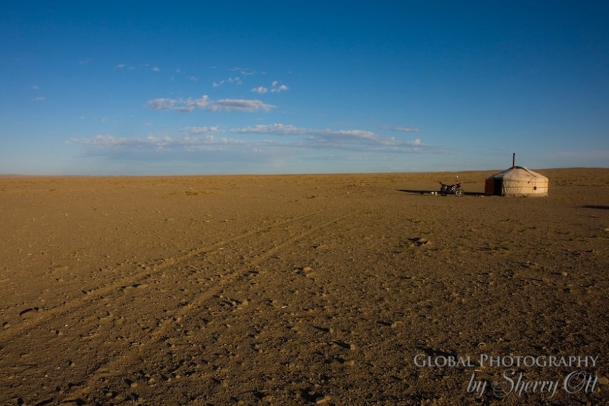 Travel in Mongolia Gobi Desert