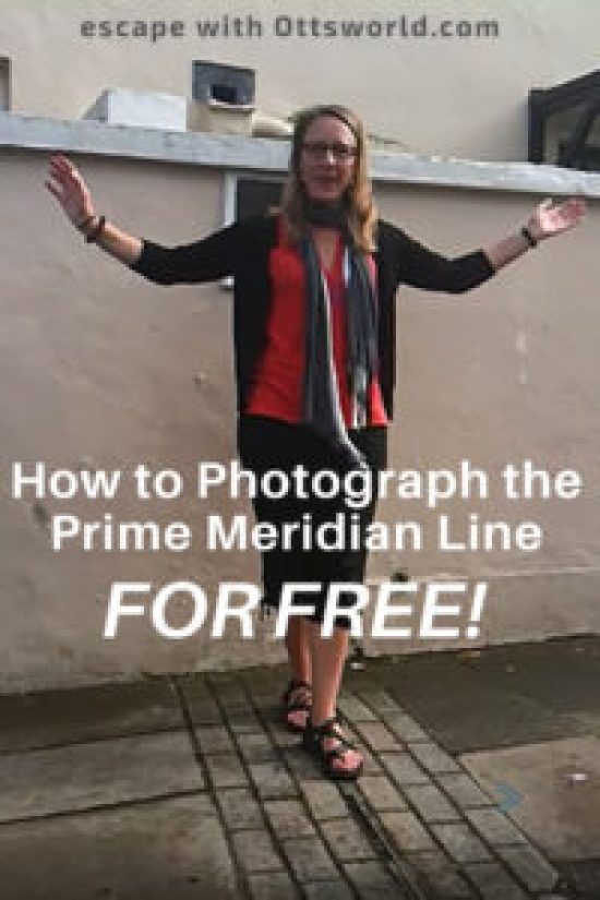 Where to photograph the Prime Meridian for FREE