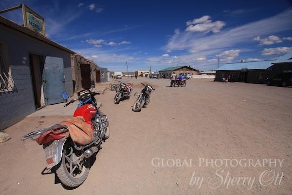 mongolia village
