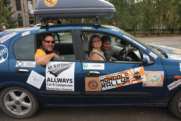 mongol rally stickers